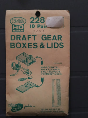 #228 Metal Draft Gear Box for #4