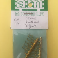 AM Models : CV15 NSWGR Brass Casting Footboard Step Supports