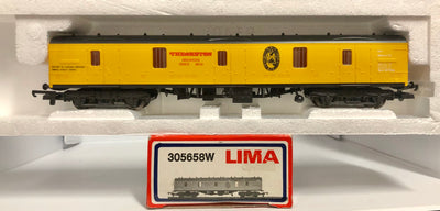 2H: Lima : THEAKSTON BREWERS VAN (new MINT condition) with #305658W HORNBY COUPLERS 2nd Hand