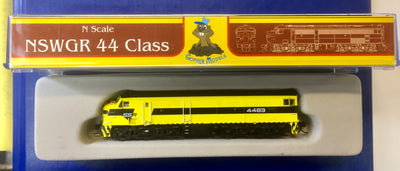 44 Class SSR 4483 Mk3 LOCOMOTIVE GOPHER MODEL N Scale Model.