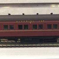 "Eureka Models NSWGR 12 Wheel Passenger 72'.6"" Car Series MAL 2019 SLEEPING CAR INDIAN RED."