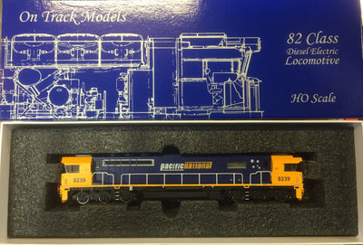 82 Class On Track Models: 8239 Pacific National Locomotive with DCC & SOUND