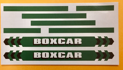BOXCAR CONTAINER DECAL: Ozzy Decals: For 40 ft container.
