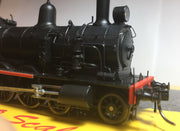 "WOMBAT MODELS: 3011 BOGIE TENDER ""Superheated"" (NEW Tooled Smokebox) LOCOMOTIVE Black Red Line MODEL C30T now in stock"
