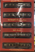 "Set106 R CARS RED & CREAM PROPOSED ""NEWCASTLE EXPRESS"" R Type Casula Hobbies Ready to Run model:  NSWGR Passenger set, 5 car set."