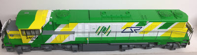 QR 2401D 16.5 mm Gage Bogies 2400 CLASS Q24/06 | BI-CENTENARY LIVERY - With ESU DCC SOUND.