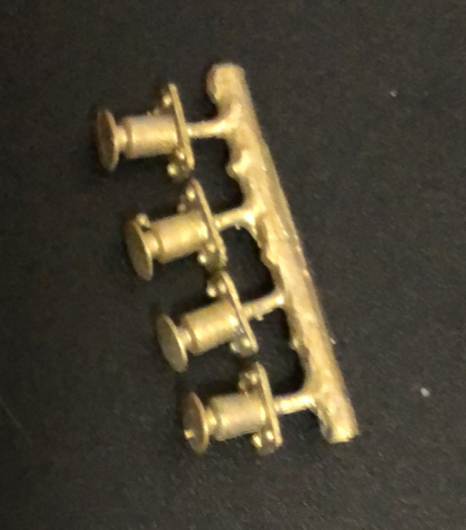 Buffers 66 - 4 wheel wagon Ozzy Brass Detailing parts  #66