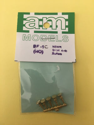 AM Models : BF-1C NSWGR Short 4-RIB BUFFERS