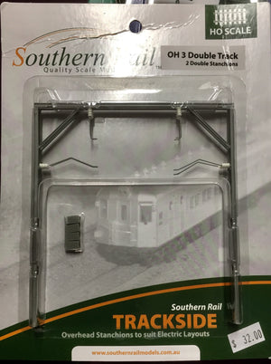 OH3 Southern Rail : STANCHONS DOUBLE ARM TRACKSIDE MODELS & ACCESSORIES:  SYDNEY RAILWAYS