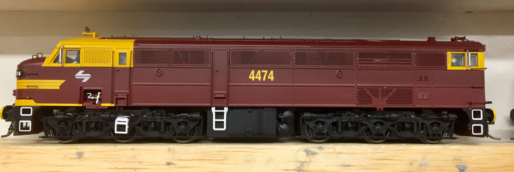 TrainOrama's 44 Class  4474 Indian Red HO NEW MODEL JUST IN.