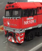 "NR109 dc Powered ALL NEW TOOLING ""THE GHAN"" NR109 Mk2 LOCOMOTIVE BY SDS MODELS. #0315 *"