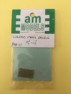 AM Models AM11  Welded Mesh Panels