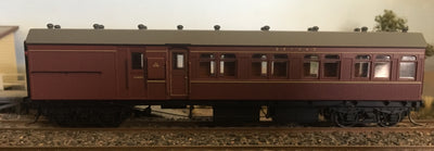 Casula Hobbies: RTR HR 1235 Passenger Terminal Car, Indian Red (Single R Car)