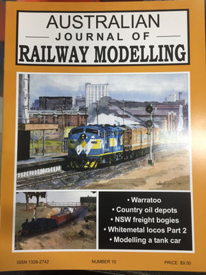 S. JOHNSON ; No10 Australian Journal of Railway Modelling No. 10 AJRM