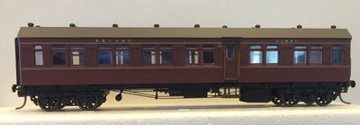 Casula Hobbies: RTR CR1415 Composite Indian Red Single Car..
