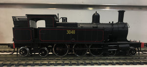 3048 - Austrains: NSWGR C30 Tank locomotive without headlight #3048 with Grated Bunker