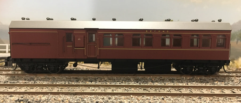 HR995 TERMINAL 2nd CLASS CAR FROM THE R Type Sets  Casula Hobbies: RTR*