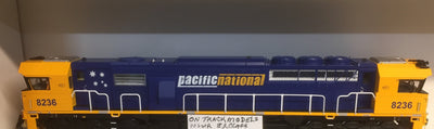 82 Class On Track Models: 8236 Pacific National Locomotive NON-SOUND DCC READY 21 PIN.