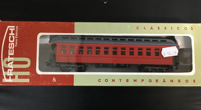 Frateschi: Passenger Car: Celerestory 1st Class Car - Red: 2498NZ