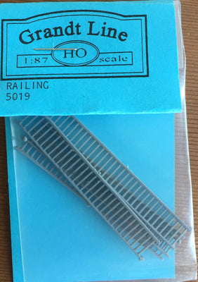 PORCH RAILING 5019 GAY NINETIES PORCH RAILING Plastic HO