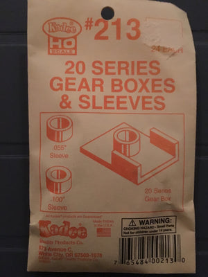# 213 Gearboxes & Sleeves (HO)