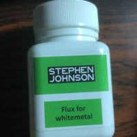 S. JOHNSON -  FLUX for WHITEMETAL SOLDERING 70ml