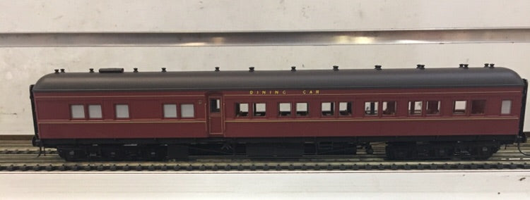 2. AB92 INDIAN RED Eureka Models : DINING CAR NSWGR 12 Wheel Passenger 72.6 Car Series .