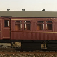 RRP $150 save $15 : HR TERMINAL 2nd CLASS PASSENGER CAR INDIAN RED FROM THE R Type Sets Casula Hobbies: RTR*
