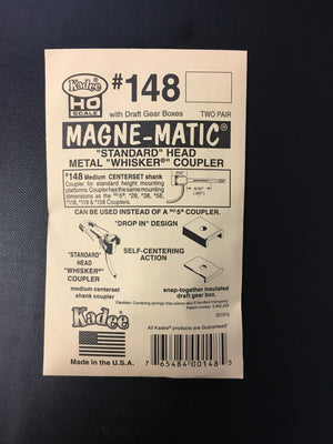 #148 Whisker Metal Couplers Medium the old #5 pack