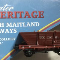 LL17 R.T.R. GOLLIN LL17  Private Owner COAL HOPPER Single hopper, SOUTHERN RAIL MODELS HO.
