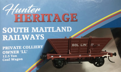 R.T.R. GOLLIN LL17  Private Owner COAL HOPPER Single hopper, SOUTHERN RAIL MODELS HO.
