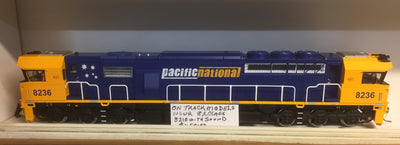82 Class On Track Models: 8236 Pacific National Locomotive with DCC & SOUND