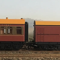 Casula Hobbies: RTR CR+EHO Car Set: CR1415+EHO1290 Tuscan & Russet/Tuscan Red