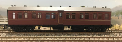 Casula Hobbies: RTR FR 997 2nd class Independent Passenger Car Indian Red (Single R Car)