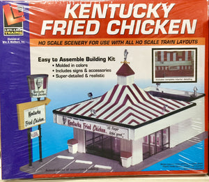 Walthers / LIFE-LIKE : Kentucky Fried Chicken  KIT 433-1394