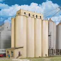 Walthers: Head House W/Silos Modern #933-2942