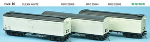 SDS Models: NSWGR: MRC Ice Chilled Wagon: Pack N: Clean White