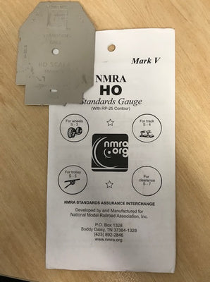 NMRA HO Standard Gauge with RP-25 Contour Mark V
