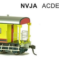 SDS Models: Guards Van: NVJA ACDEP: Pack 34087