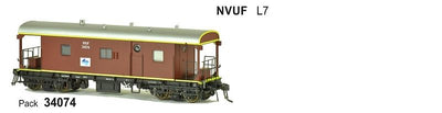SDS Models: Guards Van: NVUF L7: Pack 34074