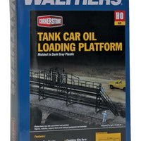 Walthers: TANK CAR OIL LOADING PLATFORM 933-3104  Kit.