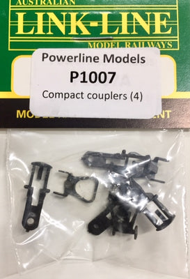 P1007 POWERLINE Parts Compact Couplers (4)