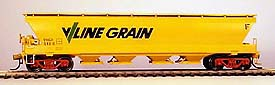 Stream Era Models - R19 - VHGF Grain Hopper Wagon Kit (THE PICTURE IS THE FINISHED MODEL)