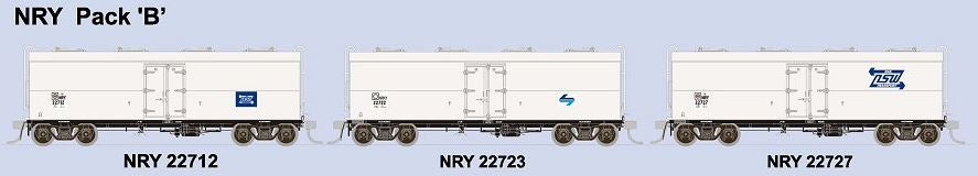 SDS Models: NSWPTC: NRY / NRNY  Ice Chilled Box Car: NRY: Pack B