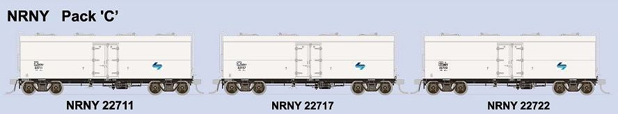 SDS Models: NSWPTC: NRY / NRNY  Ice Chilled Box Car: NRY: Pack C