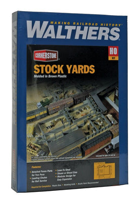 WALTHERS: STOCK YARDS KIT #933-3047 HO