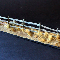 Uneek 562: HO Gauge Railway: Accessories: Split Rail Fence x3 rails: Pkt: 6:  No. 562
