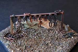 Uneek 640: HO Gauge Railway: Accessories: Shackle Rack: Pkt: 1:  No. 640