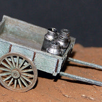 Uneek 800: HO Gauge Railway: Accessories: Two-wheeled Farmer's Cart: Pkt 1: No. 800