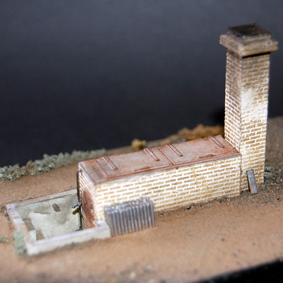 Uneek 822: HO Gauge Railway: Foot Warmers Boiler: Pkt 1: No. 822